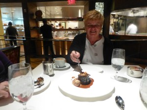 Peggy likes dessert!