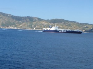 Crossing the Strait of Messina