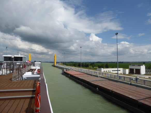 Coming out of the lock