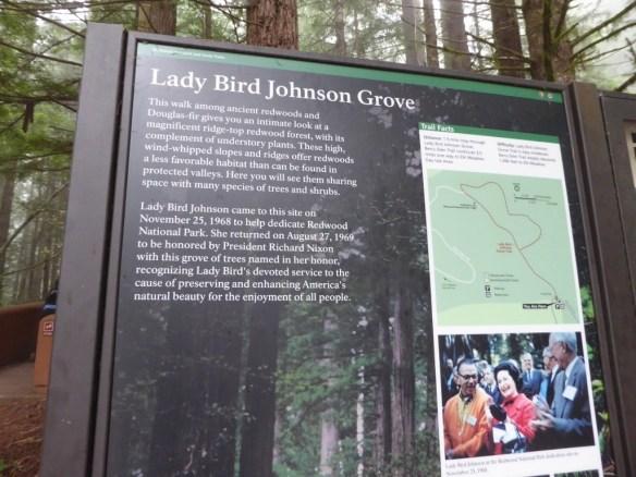 Lady Bird Johnson dedication
