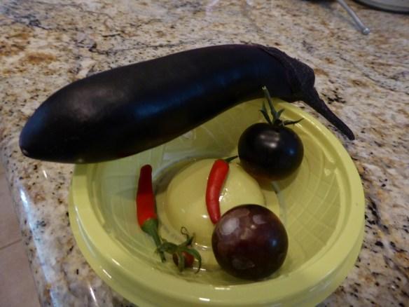 Yesterday's harvest or perhaps, slim pickins'