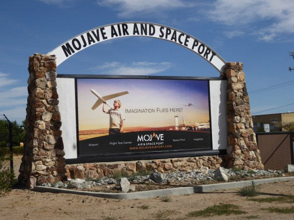 Welcome to Mojave Air and Space Port