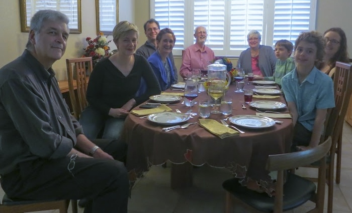 The family around the table