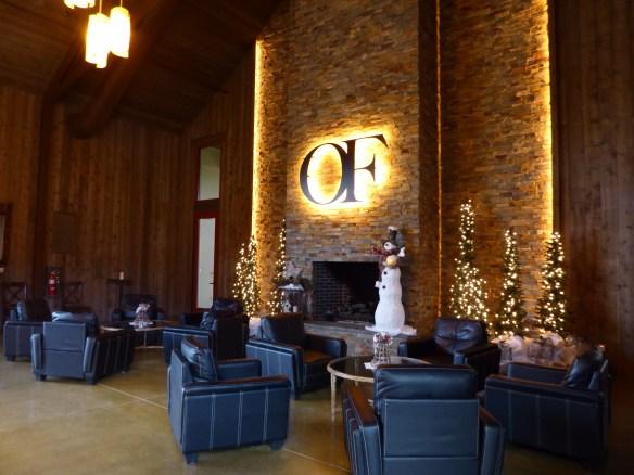 Interior of Oak Farm Winery