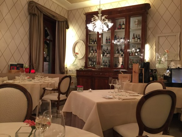 """For Sarah's birthday dinner we took her to the La Pecora Nera which translates into """"the black sheep."""" Truly we did not think of the name referring to Sarah!"""