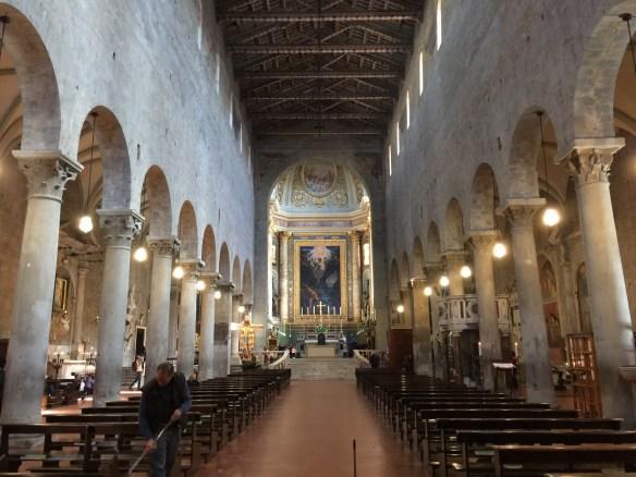 Interior of St.Zeno