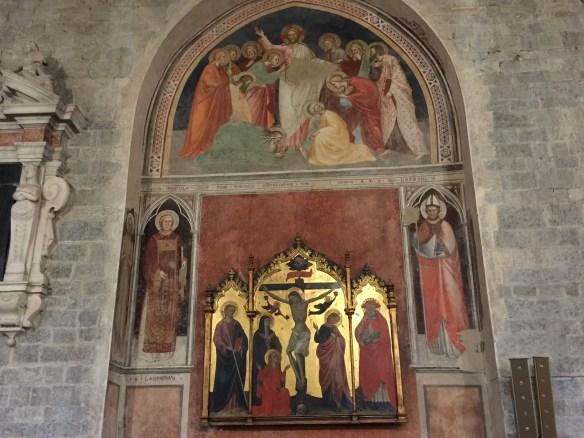 13th century side chapel