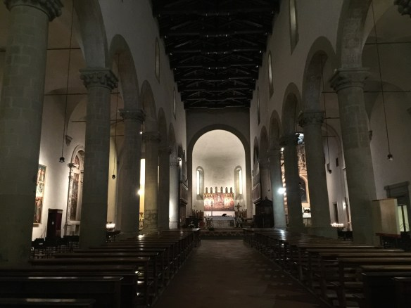 Main aisle of the Cathedral of St. John the Evangelist