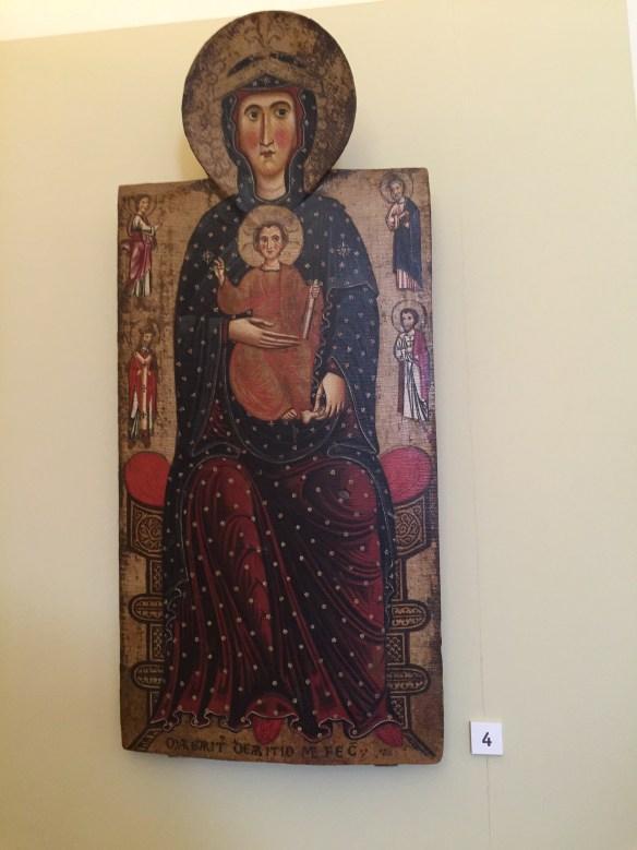 Madonna and Child by Margarito di Areezzo 1262