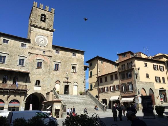 Piazza in Cortona