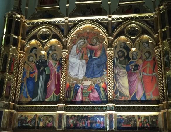Coronation altarpiece
