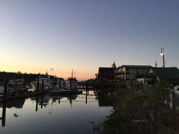 Sunset on the Skagit River