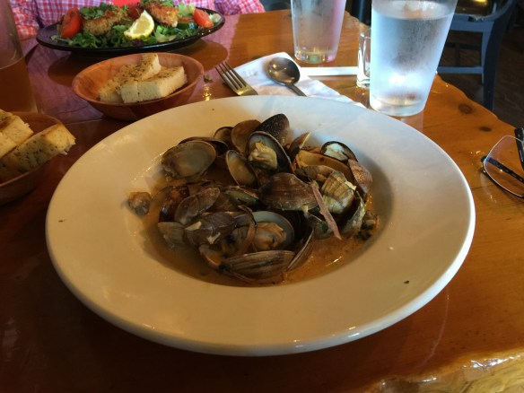 John's fabulous chipotle clams