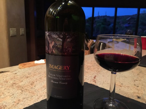 This 2004 Imagery Zinfandel is the bomb!