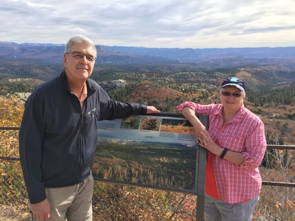Mary and John at the overlook