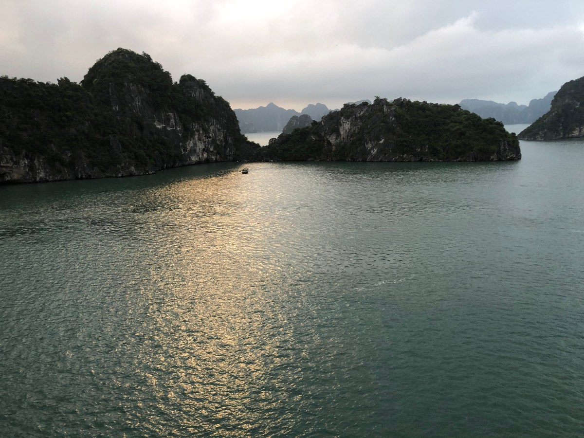 Ha Long Bay and water puppets. 11/17/19