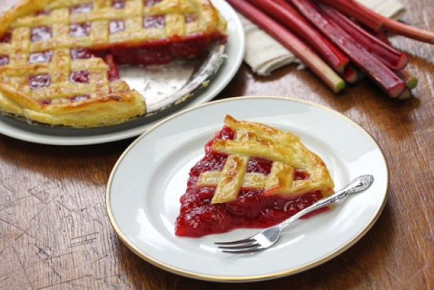 Rhubarb Pie Makes Sense