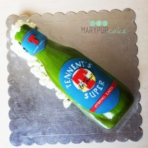 torta bottiglia birra tennent's