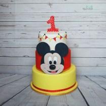 Topolino per festeggiare un primo compleanno