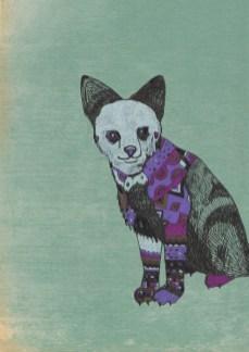 """Kit Fox // 7"""" x 5"""""""
