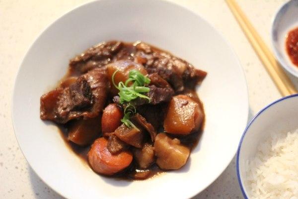 Recipe Pressure Cooker Instant Pot Cantonese braised