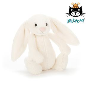 Jellycat Cream Bashful Bunny Small