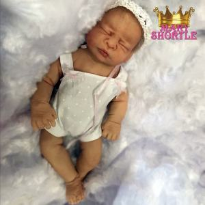 Little Sleeper Silicone 8 Inches Reborn Mary Shortle