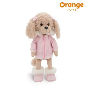 Lucky Dolly Alpine Style Lucky Doggy Orange Toys