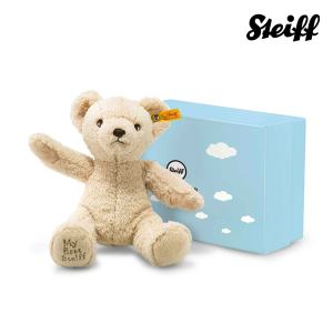 My first Steiff Teddy bear in gift box Beige
