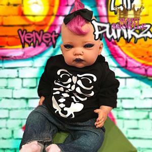 Mary Shortle Velvet Reborn Lil' Punkz