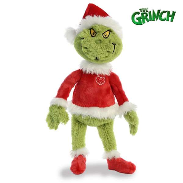 Christmas The Grinch Teddy Mary Shortle