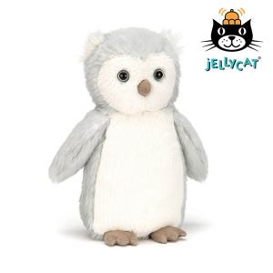 Jellycat Bashful Owl Chick Mary Shortle