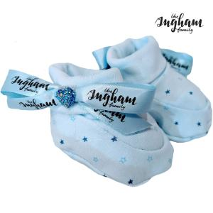 The Ingham Family Blue Boots Mary Shortle