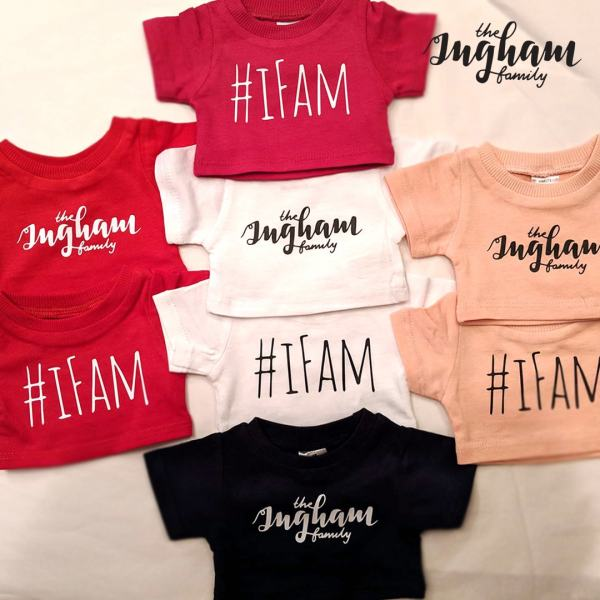 The Ingham Family T-Shirt Mary Shortle