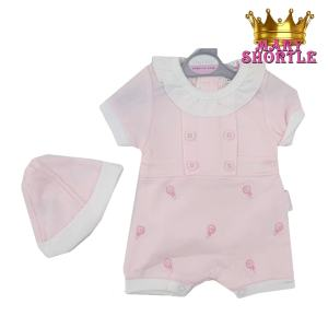 Sweet as Candy Romper Tiny Chick Mary Shortle