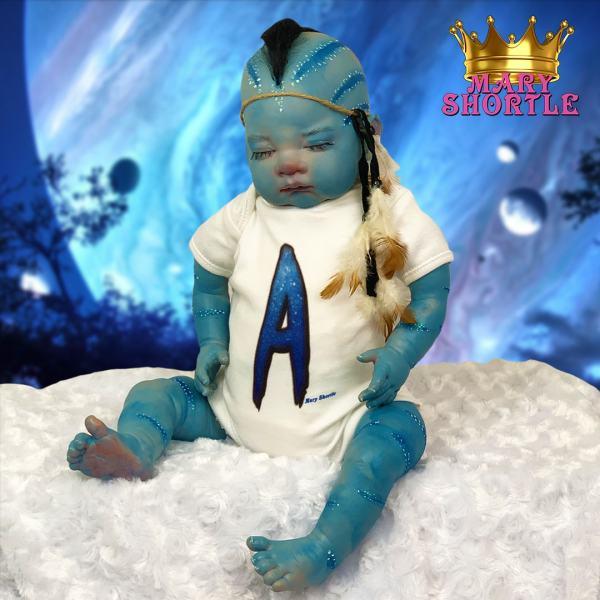 Avatar Jake Reborn Alien Mary Shortle