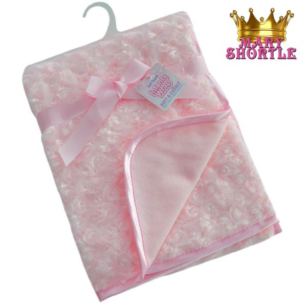 Deluxe Pink Blanket Mary Shortle