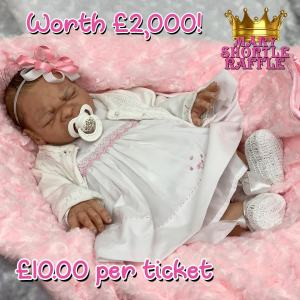 Mary Shortle Raffle Silicone Doll