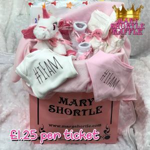 Mary Shortle Raffle The Ingham Family Hamper Pink