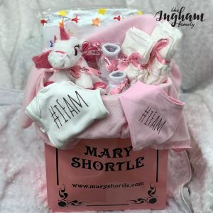 Mary Shortle The Ingham Family Hamper Pink