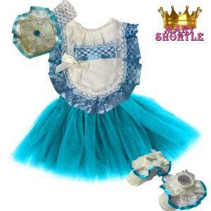 Princess Outfit Blue Mary Shortle