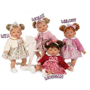 D'Nines Play Doll Melody Molly Mya Morgan Mary Shortle