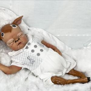 Freddie the Fawn Reborn Baby Doll Mary Shortle