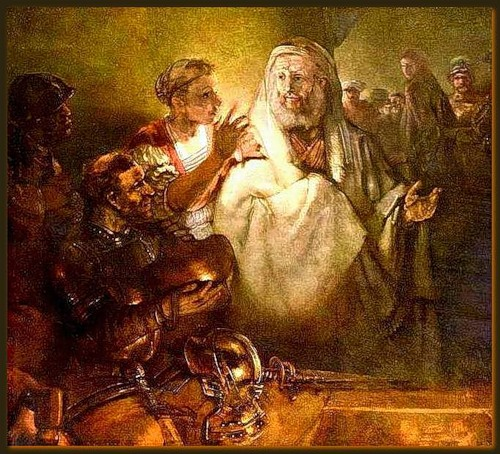 Image result for the denial of peter rembrandt images