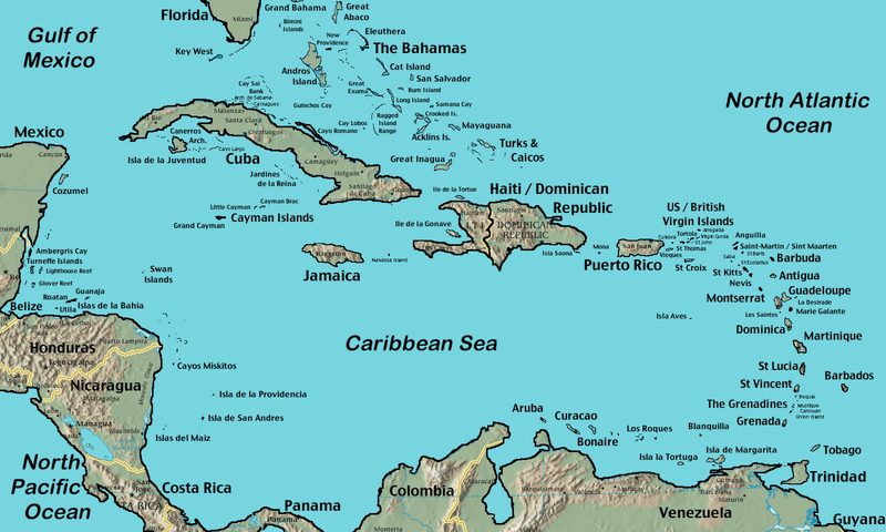 File:Caribbean Islands Locator Map.png