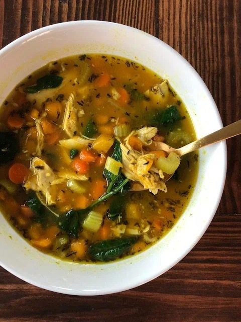 Quick Homemade Chicken Soup Marys Whole Life