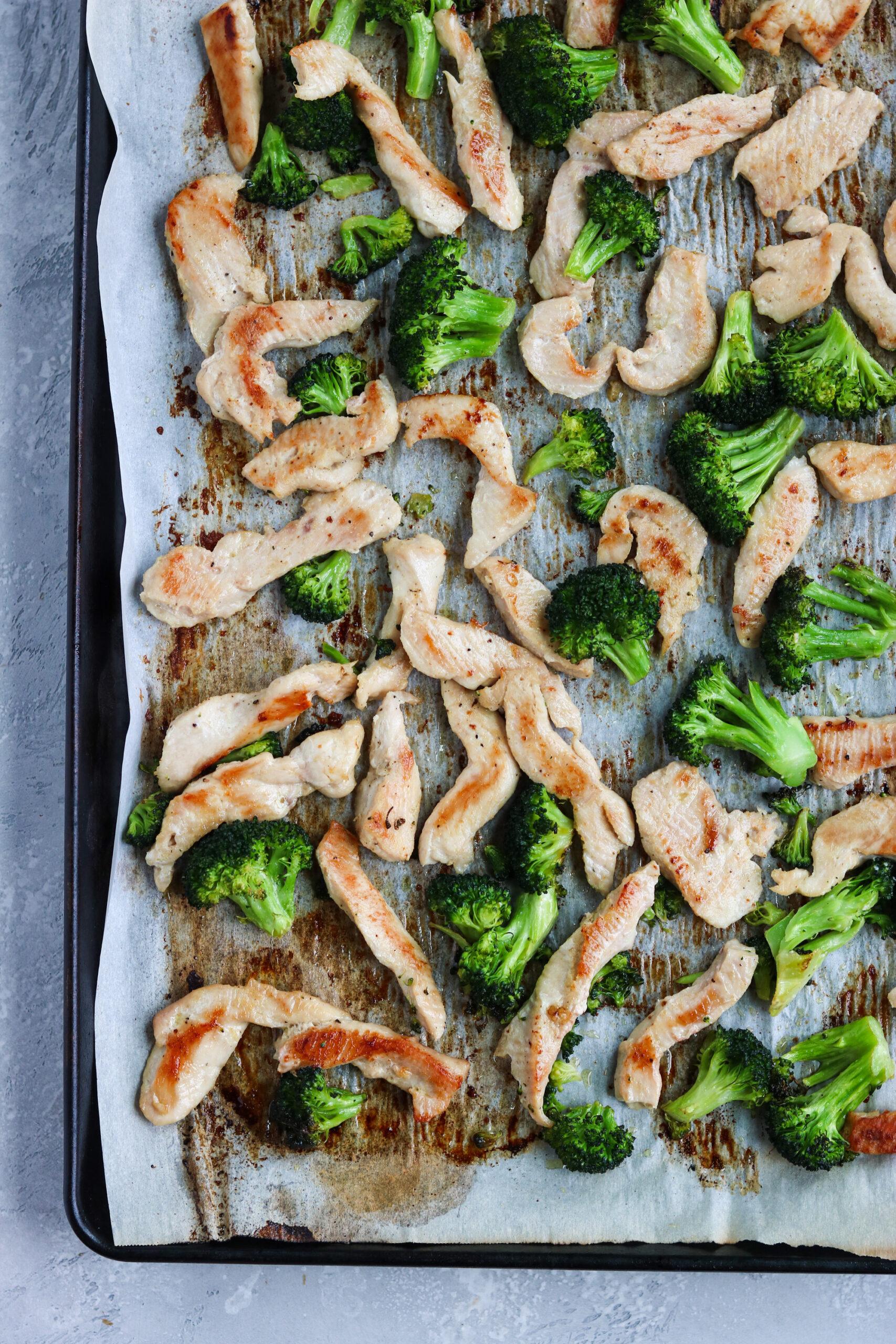 Whole30 Chicken Broccoli Alfredo