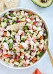 Easy Shrimp Ceviche