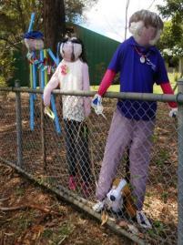 KA16 Scarecrow Name: A Trio Of Education QLD'S Finest Owner: Kandanga State School 84 Main St Kandanga 4570 Registration Centre: Kandanga Category: Childrens