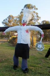 AM02 Scarecrow Name: Chef Owner: Malcolm Oakley 368 Kandanga/Amamoor rd Amamoor 4570 Registration Centre: Kandanga Category: Traditional